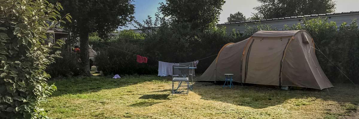 Emplacements Camping Golf du Morbihan