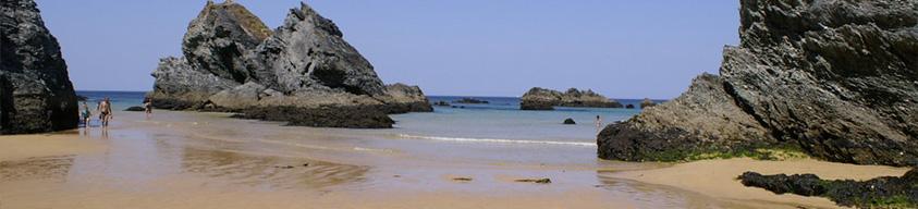 La plage de Donnant à Belle-Île-en-Mer