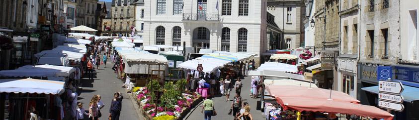 Les marchés d'Auray