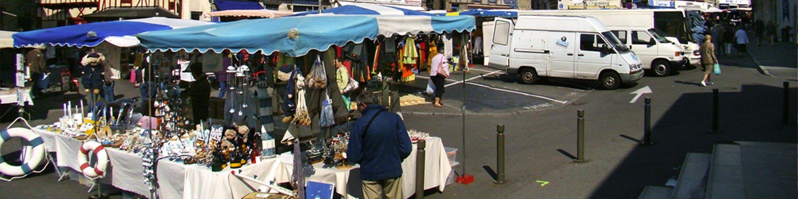 Les marchés du morbihan