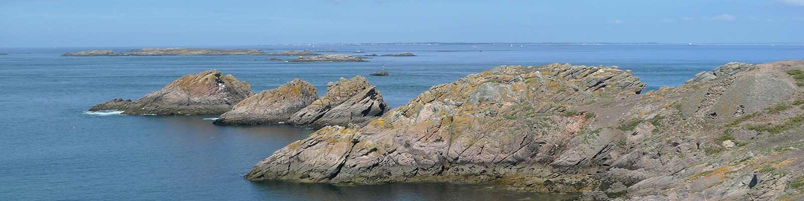 les plages de la Presqu'île de Rhuys