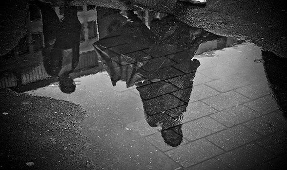 quiberon sous la pluie